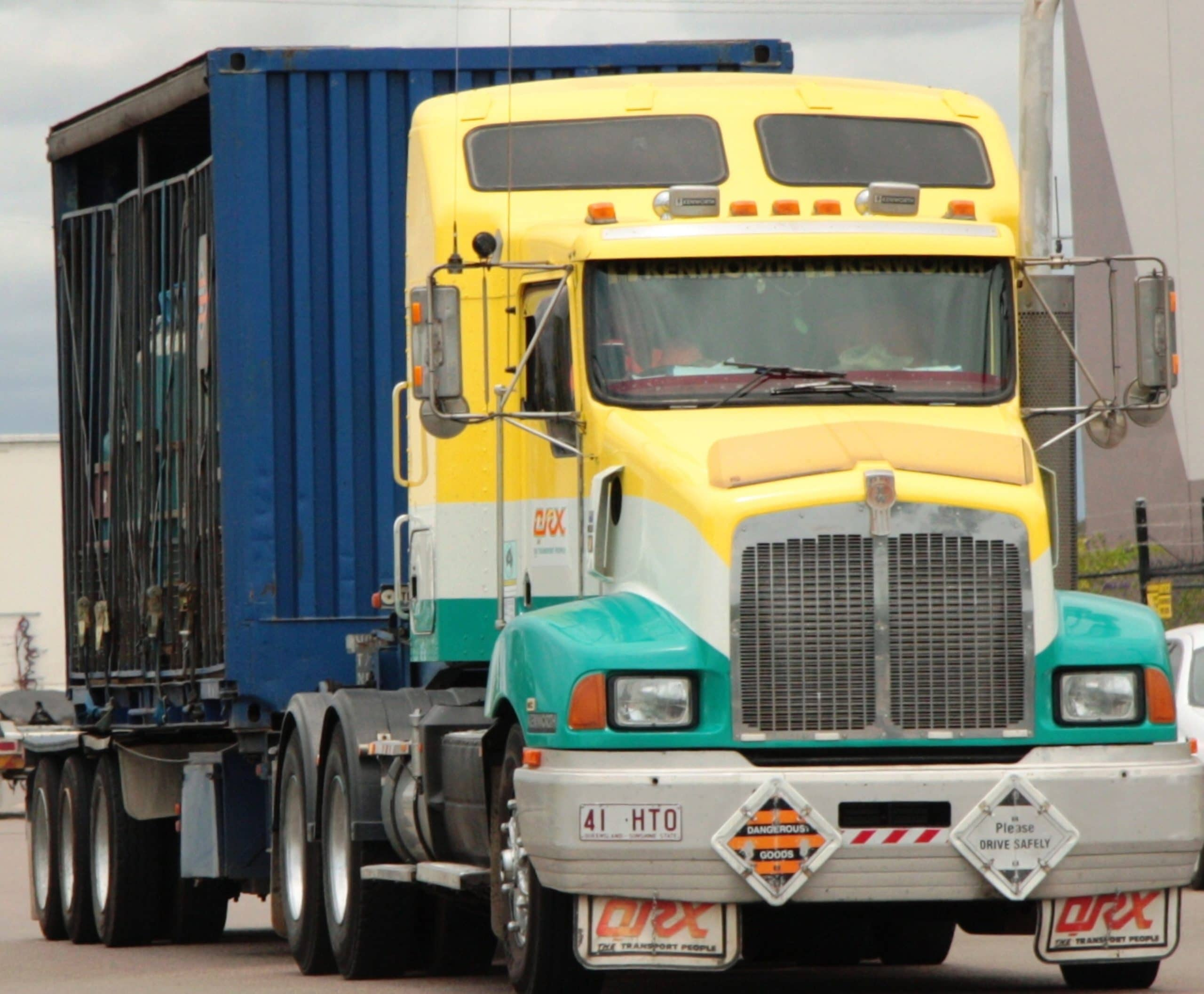 tractor trailer liability damages