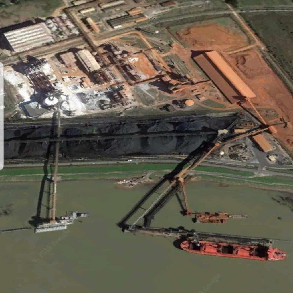 Mississippi River Terminal Louisiana