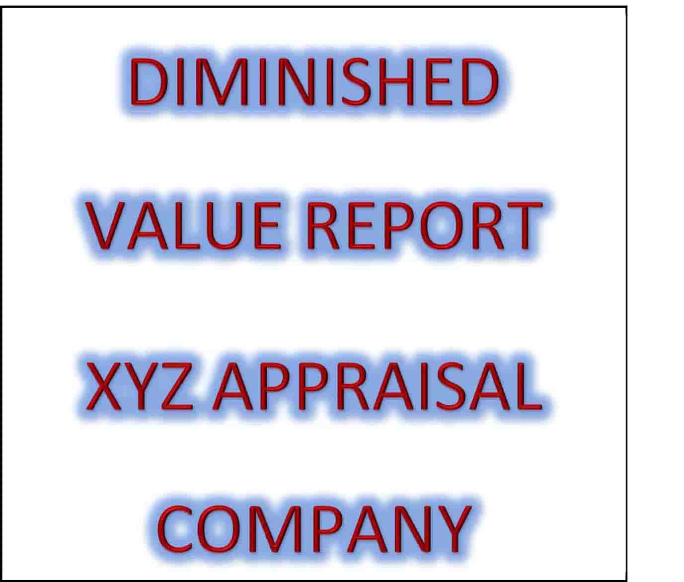 Louisiana Diminished Value Report