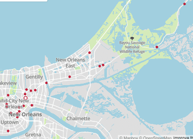 24 Fatal Car Accidents Reported by NOPD through July 31, 2020