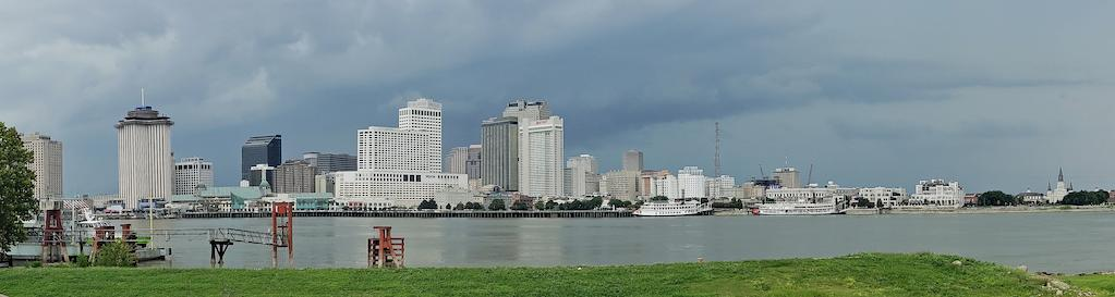 View Of City Of New Orleans From Algiers Point