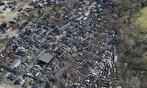 New Orleans East Salvage Yards Located Almonaster & Old Gentilly Road Is Where Many New Orleans Totaled Cars Are Brought After A Total Loss Accident