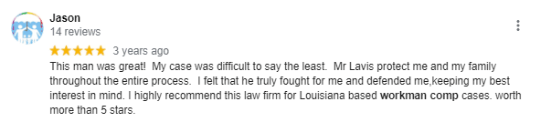 new orleans workers compensation review