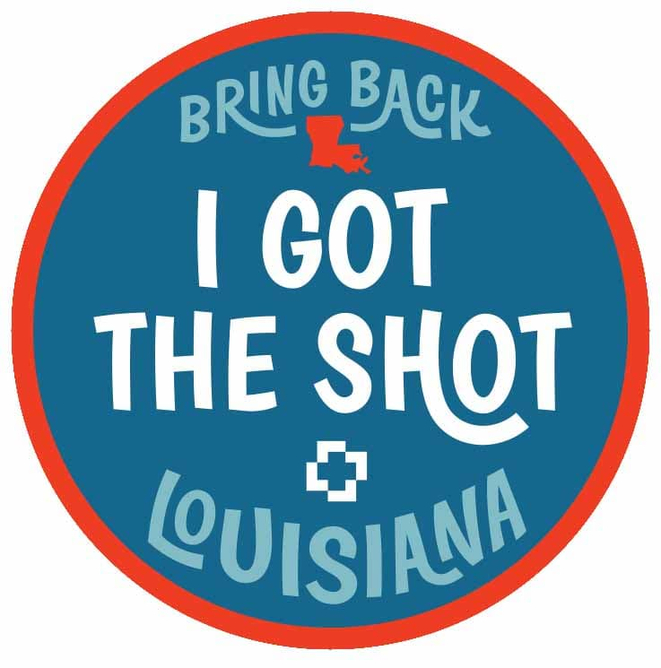 I Got The Shot- COVID-19 Vaccination Sticker